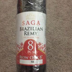 Saga Brazilian remy 100% human hair